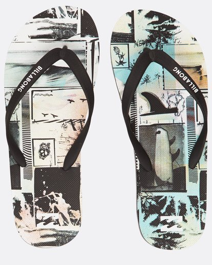 0 Tides Frame Sandals Vert H5FF07BIP8 Billabong