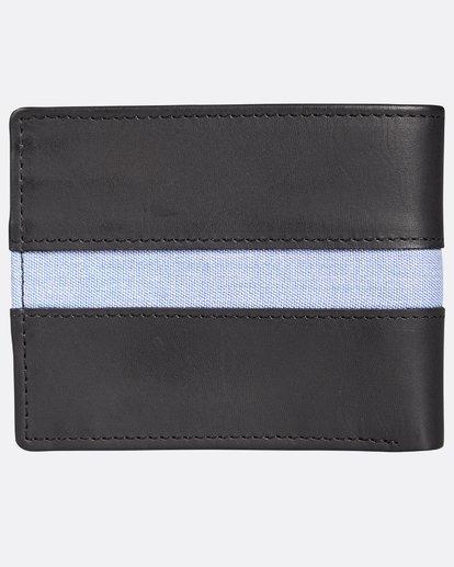 1 D Bah Leather Wallet Noir H5LW02BIP8 Billabong