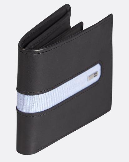 2 D Bah Leather Wallet Noir H5LW02BIP8 Billabong