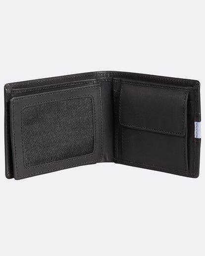 4 D Bah Leather Wallet Noir H5LW02BIP8 Billabong