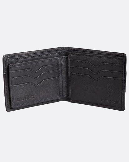 4 Tribong Leather Wallet Noir H5LW03BIP8 Billabong