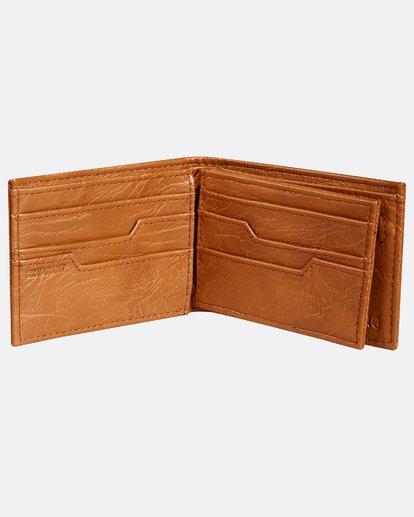 3 Vacant Wallet Beige H5WM03BIP8 Billabong