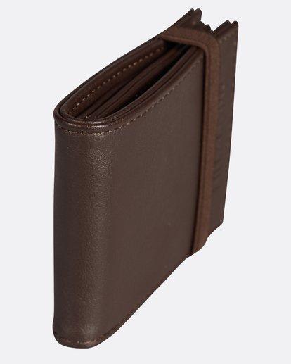 1 Locked Slim Wallet Marron H5WM05BIP8 Billabong