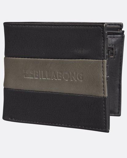 0 Tribong Big Bill Wallet Noir H5WM07BIP8 Billabong