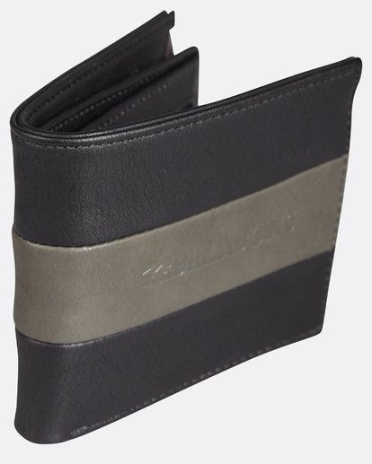 2 Tribong Big Bill Wallet Noir H5WM07BIP8 Billabong