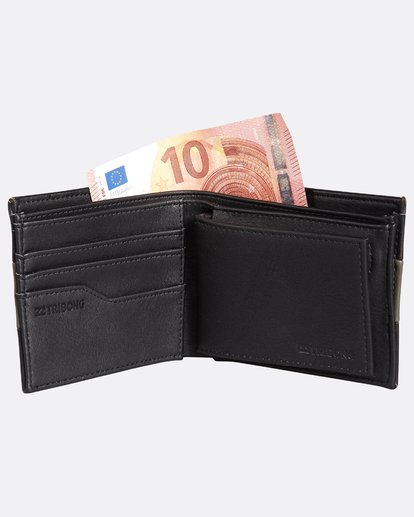 3 Tribong Big Bill Wallet Noir H5WM07BIP8 Billabong