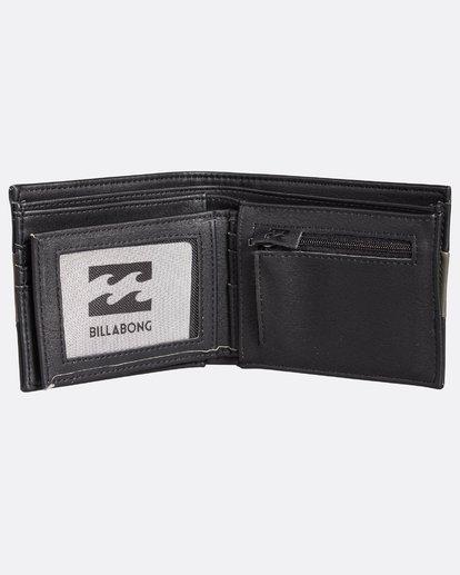 4 Tribong Big Bill Wallet Noir H5WM07BIP8 Billabong