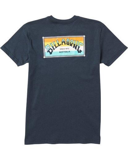 1 Baby Boys' Menehune Arch Box T-Shirt  I401SBAB Billabong