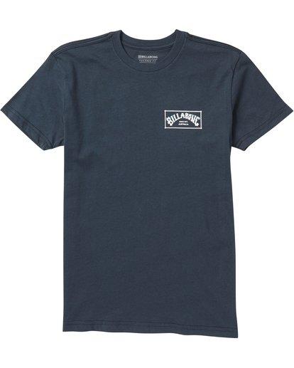 0 Baby Boys' Menehune Arch Box T-Shirt  I401SBAB Billabong
