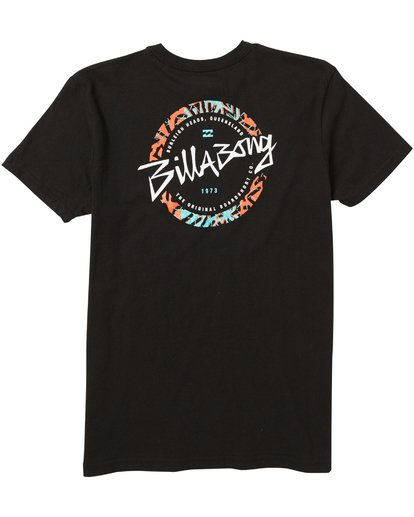 1 Baby Boys' Menehune Eighty Six Tee Shirt Black I401SBEI Billabong