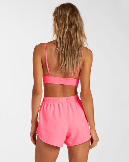2 Sol Searcher Overdyed Volley Swim Short Pink J1012BSO Billabong