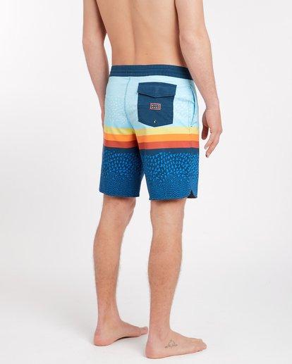 2 Fifty 50 Lo Tides 18'' Boardshorts Bleu J1BS08BIS8 Billabong