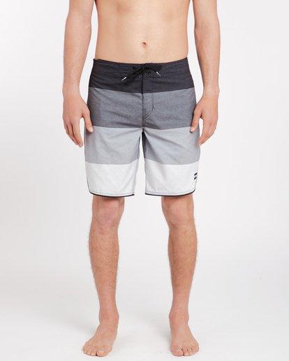 0 73 Originals Stripe 19'' Boardshorts Noir J1BS12BIS8 Billabong