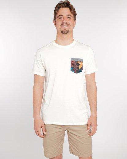 1 All Day Print Pocket T-Shirt Bleu J1JE02BIS8 Billabong