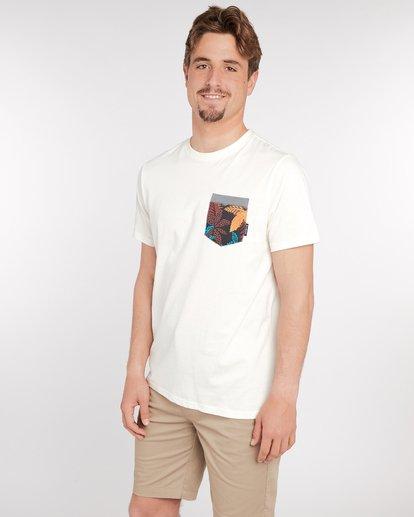 2 All Day Print Pocket T-Shirt Bleu J1JE02BIS8 Billabong