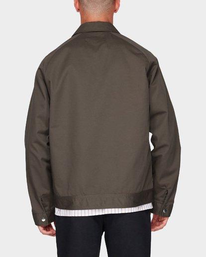 1 Creed Jacket Marron J1JK01BIS8 Billabong
