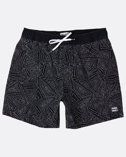 6 Sundays Laybacks 16'' Boardshorts Noir J1LB01BIS8 Billabong