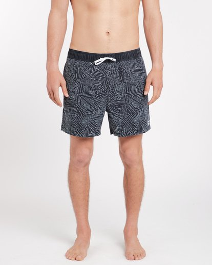 2 Sundays Laybacks 16'' Boardshorts Noir J1LB01BIS8 Billabong