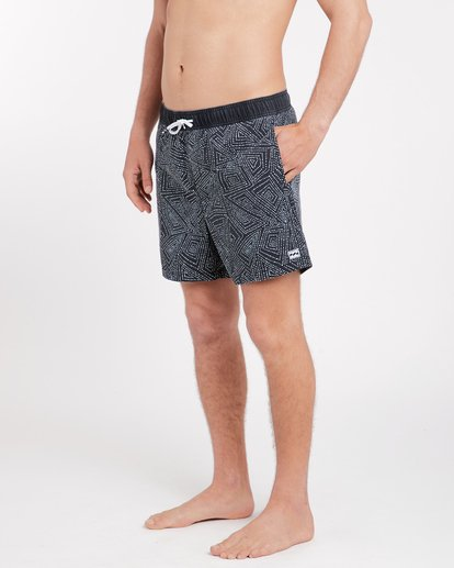 3 Sundays Laybacks 16'' Boardshorts Noir J1LB01BIS8 Billabong