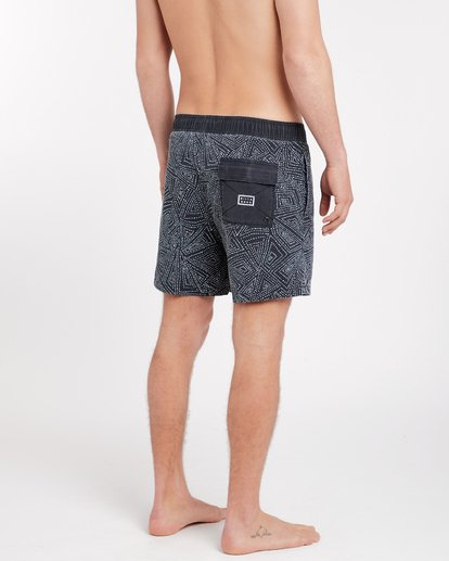 4 Sundays Laybacks 16'' Boardshorts Noir J1LB01BIS8 Billabong
