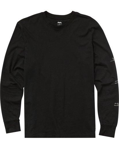 0 New Flame Long Sleeve T-Shirt Noir J1LS01BIMU Billabong