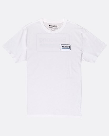 0 Pacific T-Shirt Blanc J1SS02BIS8 Billabong