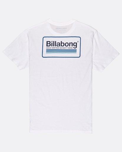 1 Pacific T-Shirt Blanc J1SS02BIS8 Billabong