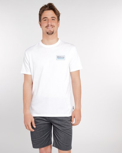 2 Pacific T-Shirt Blanc J1SS02BIS8 Billabong
