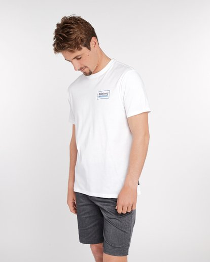 3 Pacific T-Shirt Blanc J1SS02BIS8 Billabong