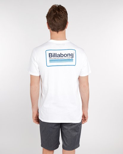 4 Pacific T-Shirt Blanc J1SS02BIS8 Billabong