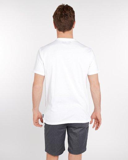 3 Morning Brisk T-Shirt Blanc J1SS04BIS8 Billabong