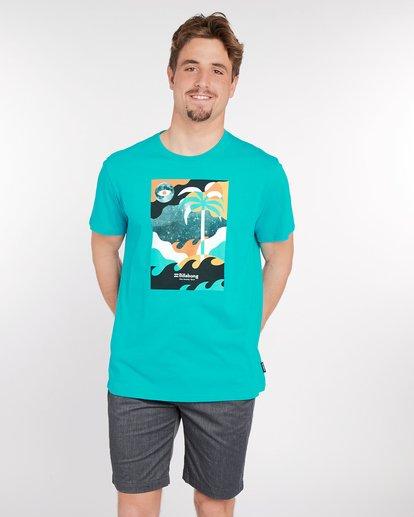 1 Spacecase T-Shirt Vert J1SS05BIS8 Billabong