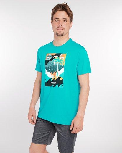 2 Spacecase T-Shirt Vert J1SS05BIS8 Billabong