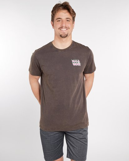 2 Otiss T-Shirt Gris J1SS06BIS8 Billabong