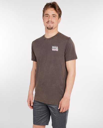 3 Otiss T-Shirt Gris J1SS06BIS8 Billabong