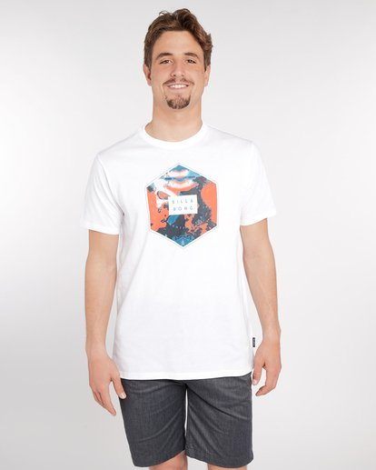 1 Access T-Shirt Blanc J1SS07BIS8 Billabong