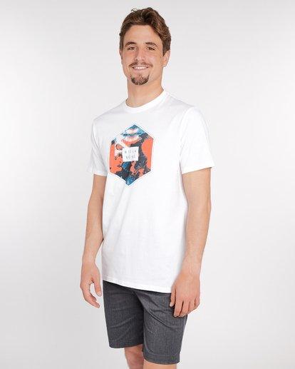 2 Access T-Shirt Blanc J1SS07BIS8 Billabong
