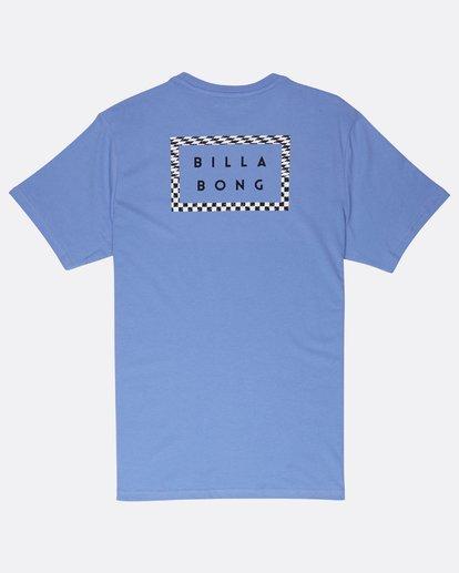 1 Border Die Cut T-Shirt Bleu J1SS08BIS8 Billabong
