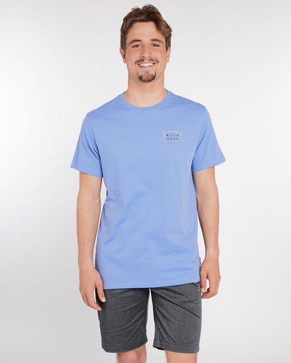 2 Border Die Cut T-Shirt Bleu J1SS08BIS8 Billabong