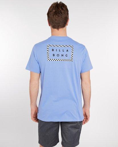 4 Border Die Cut T-Shirt Bleu J1SS08BIS8 Billabong