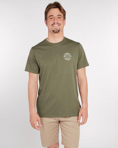 2 Mastercraft T-Shirt Vert J1SS10BIS8 Billabong