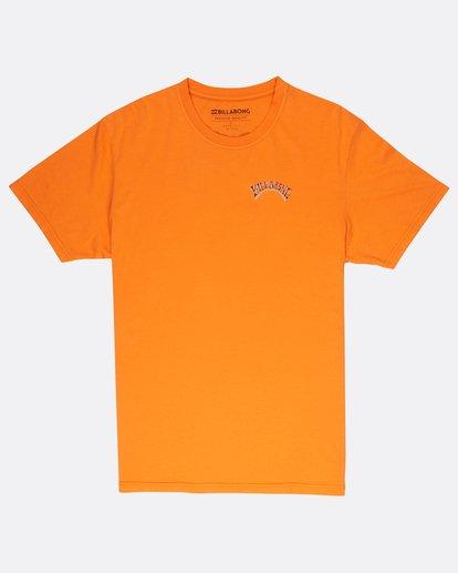 0 Siesta T-Shirt Rojo J1SS11BIS8 Billabong