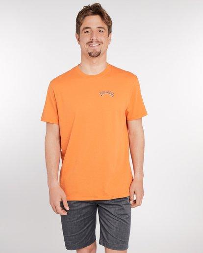 2 Siesta T-Shirt Rojo J1SS11BIS8 Billabong