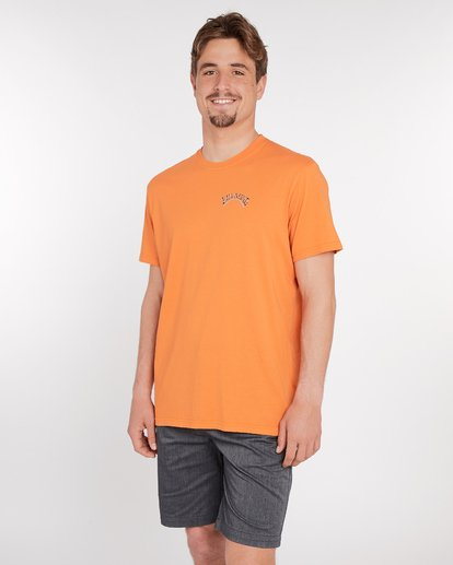 3 Siesta T-Shirt Rojo J1SS11BIS8 Billabong