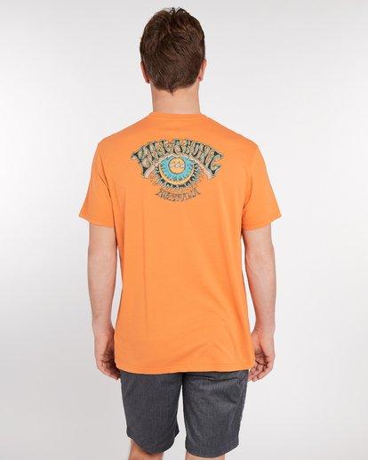 4 Siesta T-Shirt Rojo J1SS11BIS8 Billabong