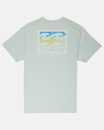1 Crusty T-Shirt Green J1SS12BIS8 Billabong