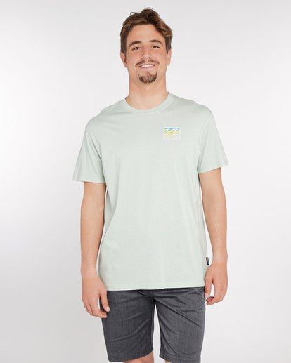 2 Crusty T-Shirt Green J1SS12BIS8 Billabong