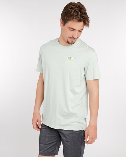 3 Crusty T-Shirt Green J1SS12BIS8 Billabong