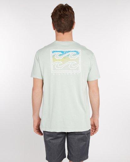 4 Crusty T-Shirt Green J1SS12BIS8 Billabong
