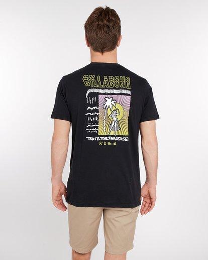 4 Sic Palm T-Shirt Noir J1SS14BIS8 Billabong